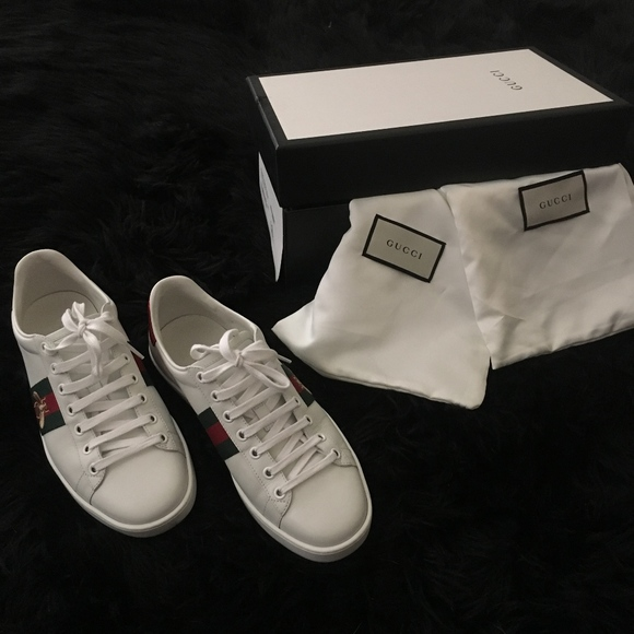 cca05d512 Gucci Shoes | Ace Embroidered Sneakers | Poshmark